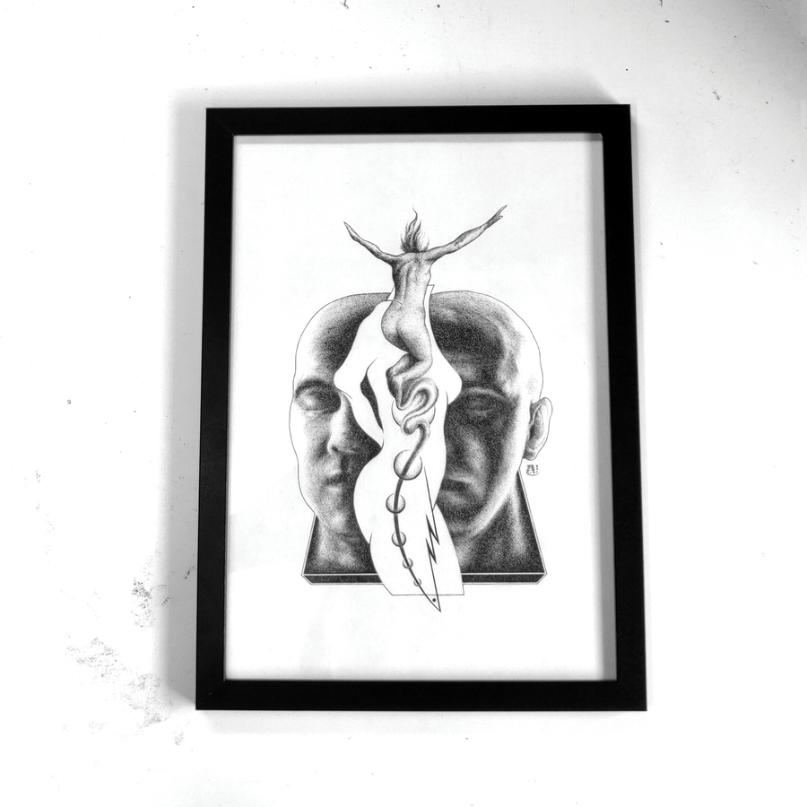 Image of Relinquish | Ink Drawing