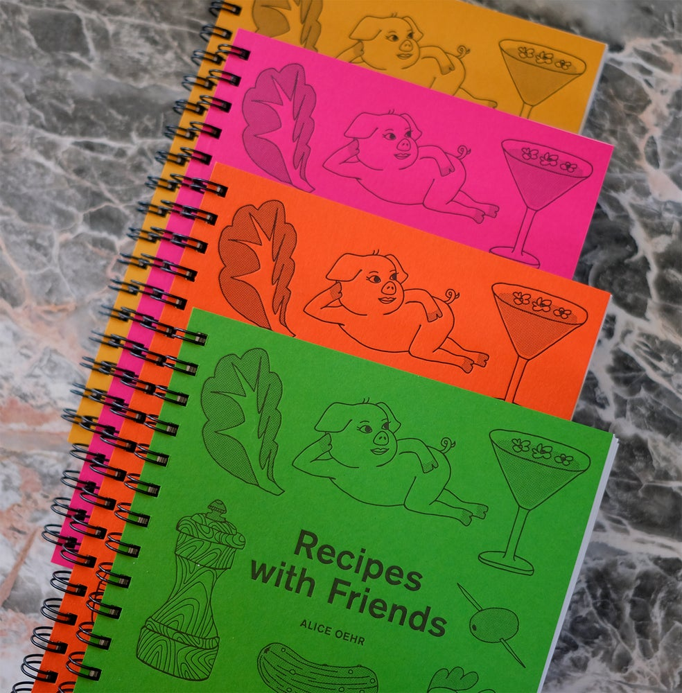 Image of Recipes with Friends Cook Book