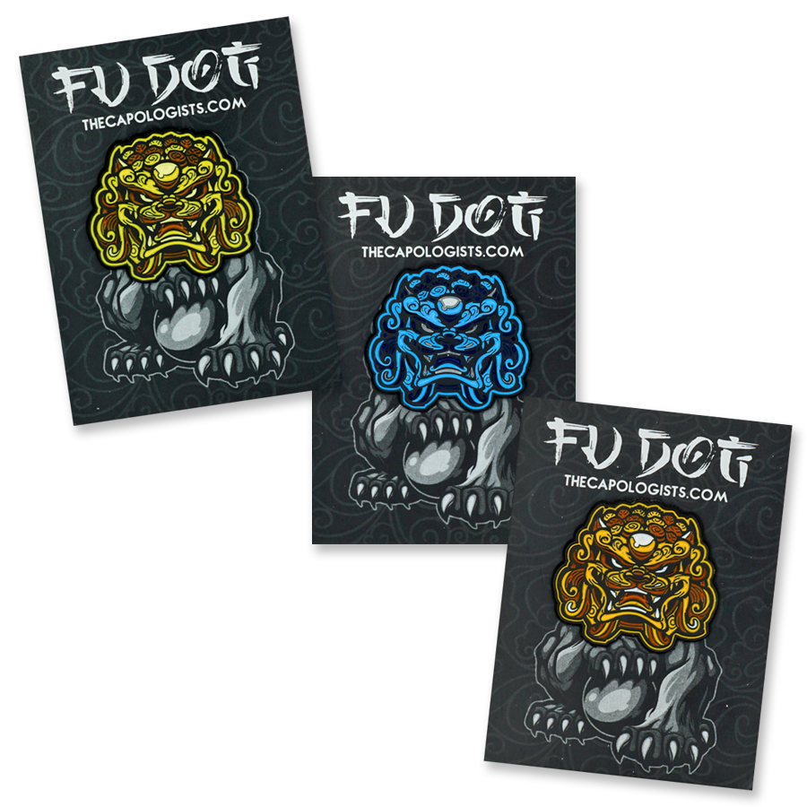 FU DOG PIN