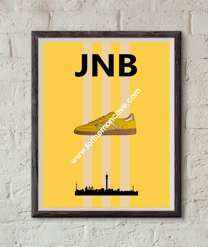 Image of 1/2020  JOHANNESBURG INSPIRED / THREE STRIPE PRINT