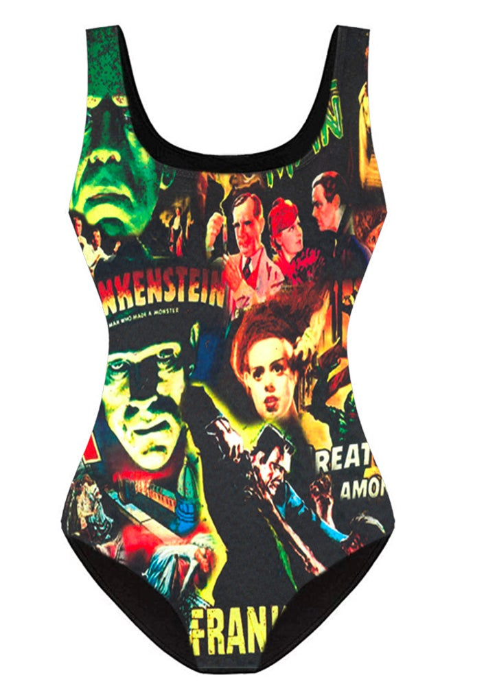Image of Classic Monsters Swim Suits PREORDER