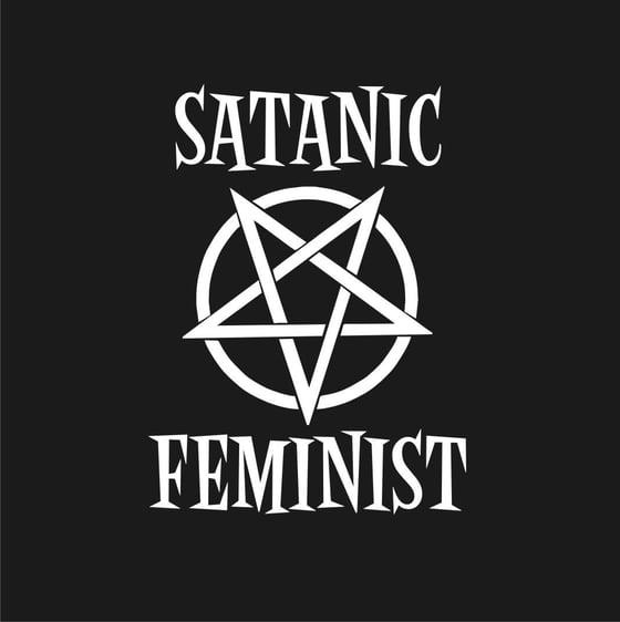 Image of Satanic Feminist - Ladies & Guys T-Shirt
