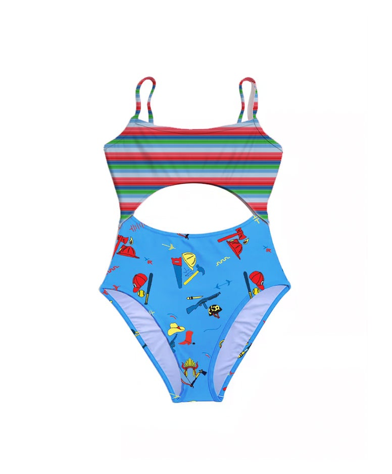 Image of Cut Out One Piece Bathing Suits PREORDER