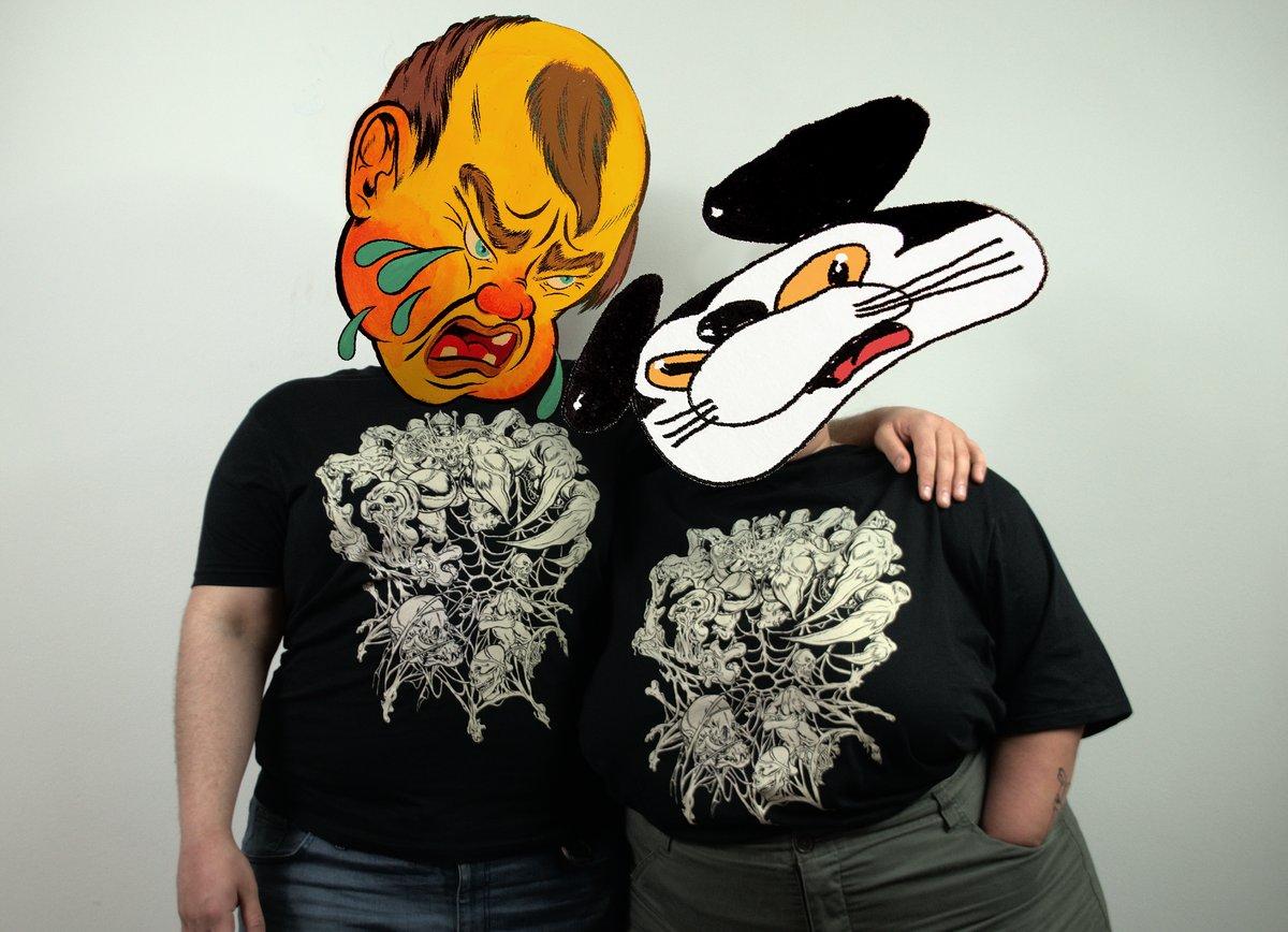 Image of Arachnoid Trap T-Shirt 🕸️🕷️