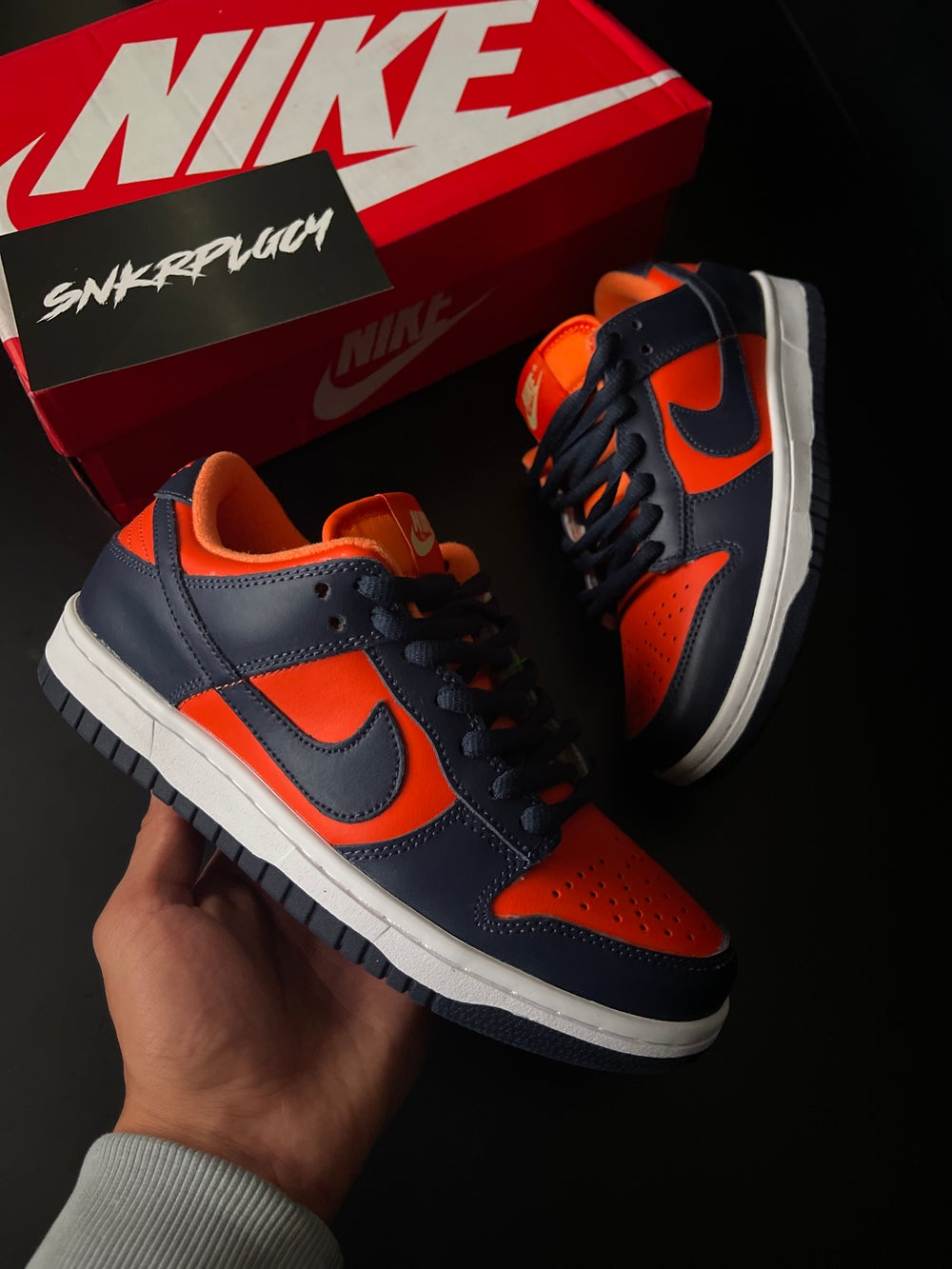 Nike Dunk Low / SP Champ Colors University Orange Marine