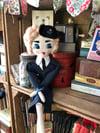 1940s style WW2 WREN Rag Doll