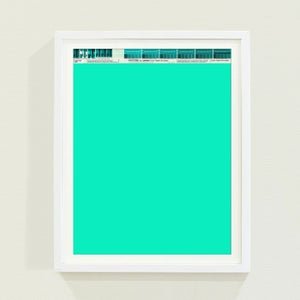 Image of PANTONE® Letraset Posters × Turquoises