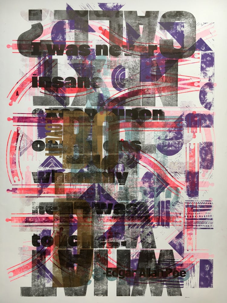 Image of One-off Typo Poster #1-062