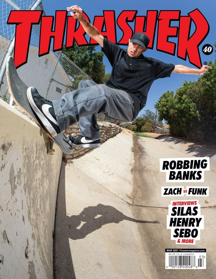 REVISTA THRASHER ABRIL 2021 & MARZO 2021 EN PROMO
