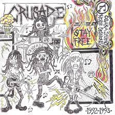 "CRUSADE ""Stay Free"" LP + 7"" FLEXI"