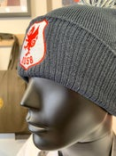 Image of SO58 embroidered Bobble in French Navy