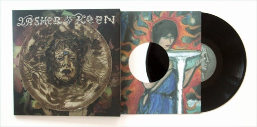 "Image of Lasher Keen - Possessed by the Forest Queen, 10"" limited vinyl"