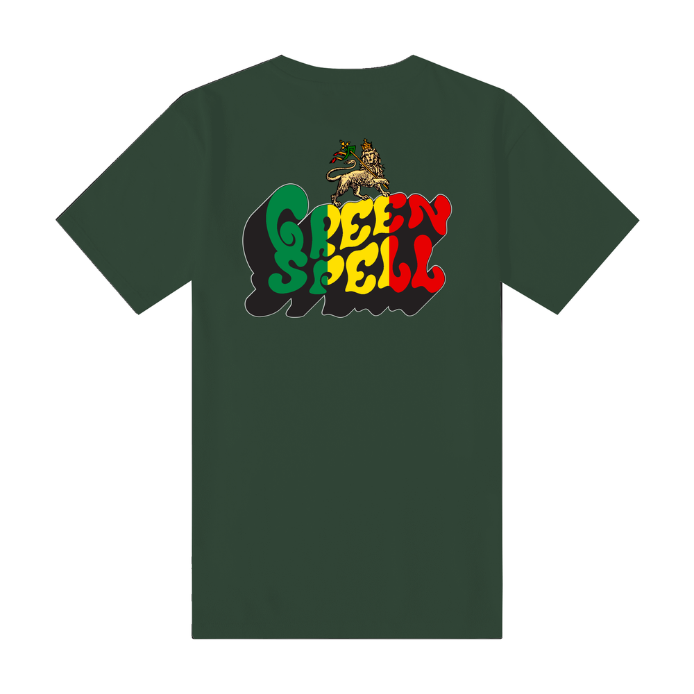 Rasta Tee ( Forest Green )