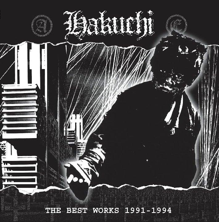 """HAKUCHI """"The Best Works 1991-1994"""" LP"""