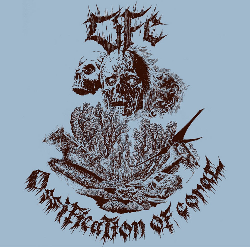 """LIFE """"Ossification Of Coral"""" LP"""