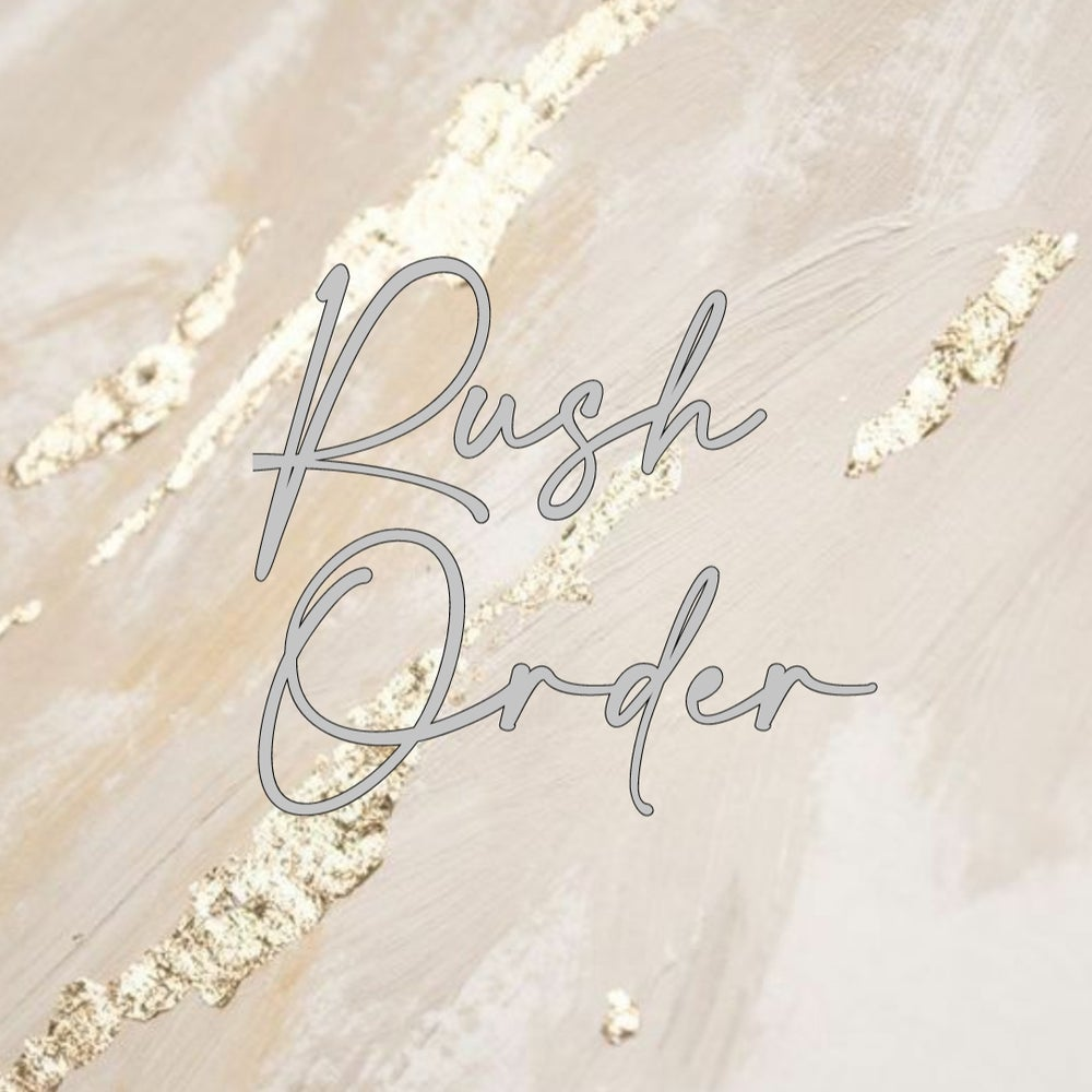Image of Rush Order