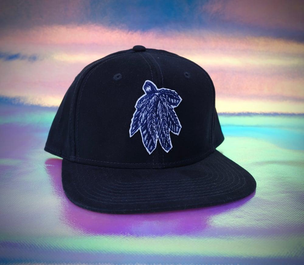 SnapBack cannabis hat
