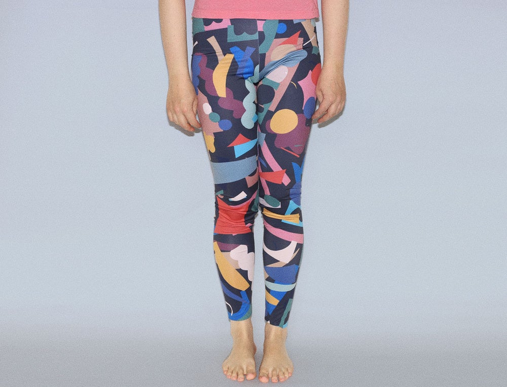 Image of COLOR CUTS LEGGINGS