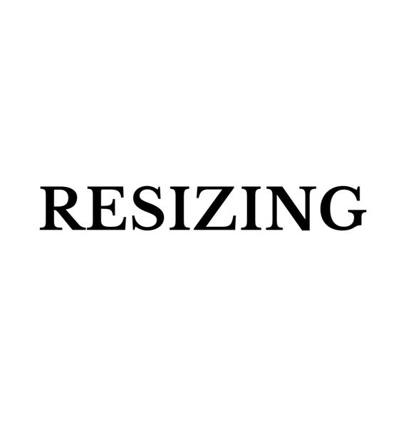 Image of RESIZING