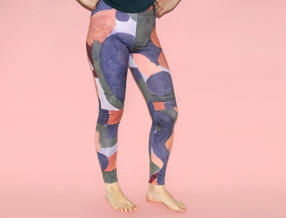 Image of COLOR PAINTN LEGGINGS