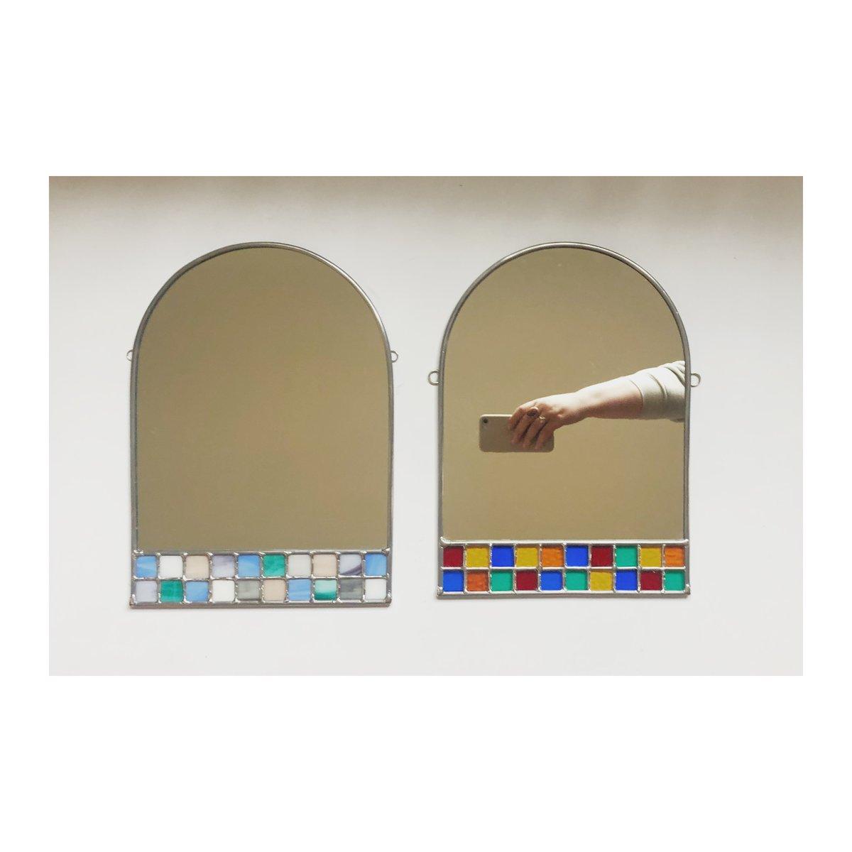 Image of Cottagecore Checker Mirror
