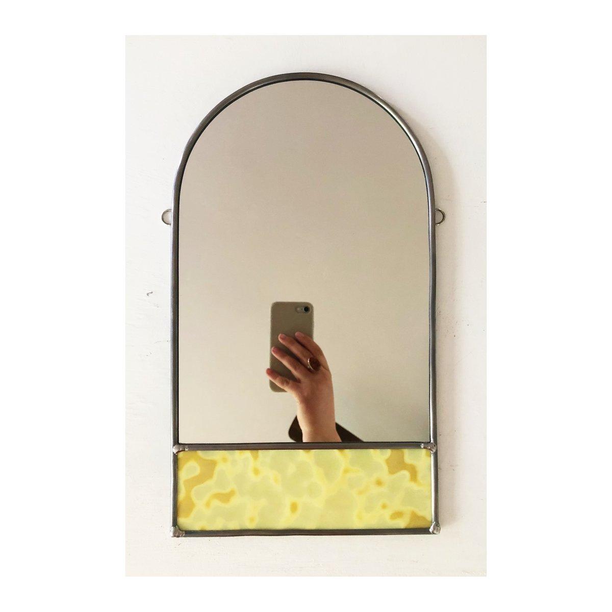 Image of Large Lichen Mirror