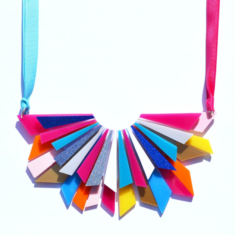 Image of Starburst Statement Necklace
