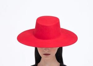 Image of  SAMPLE SALE - Wool Brim Fedora Hat - 013