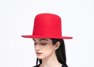 Image of  SAMPLE SALE - Wool Brim Fedora Hat - 015