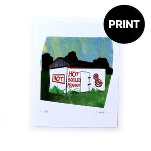 Hot Boiled Peanuts - PRINT