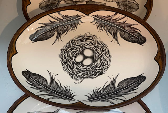 Image of Small Oval Platter - Multiple designs