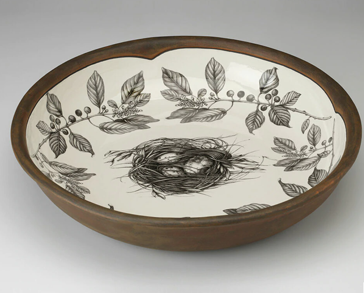 Image of  Ceramic Bowls (Pasta Bowls in 4 designs or Large Bowl)