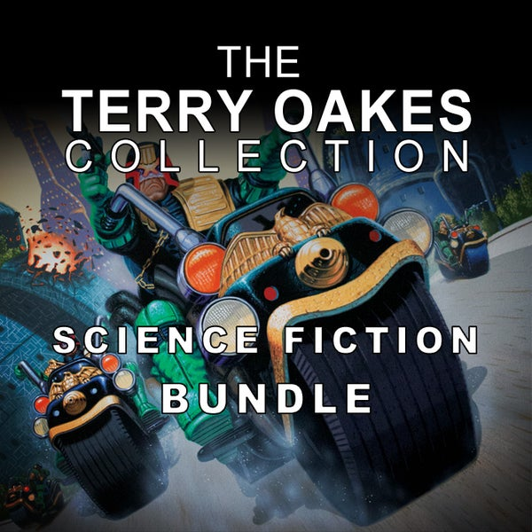 Image of Sci-Fi print Bundle – A3