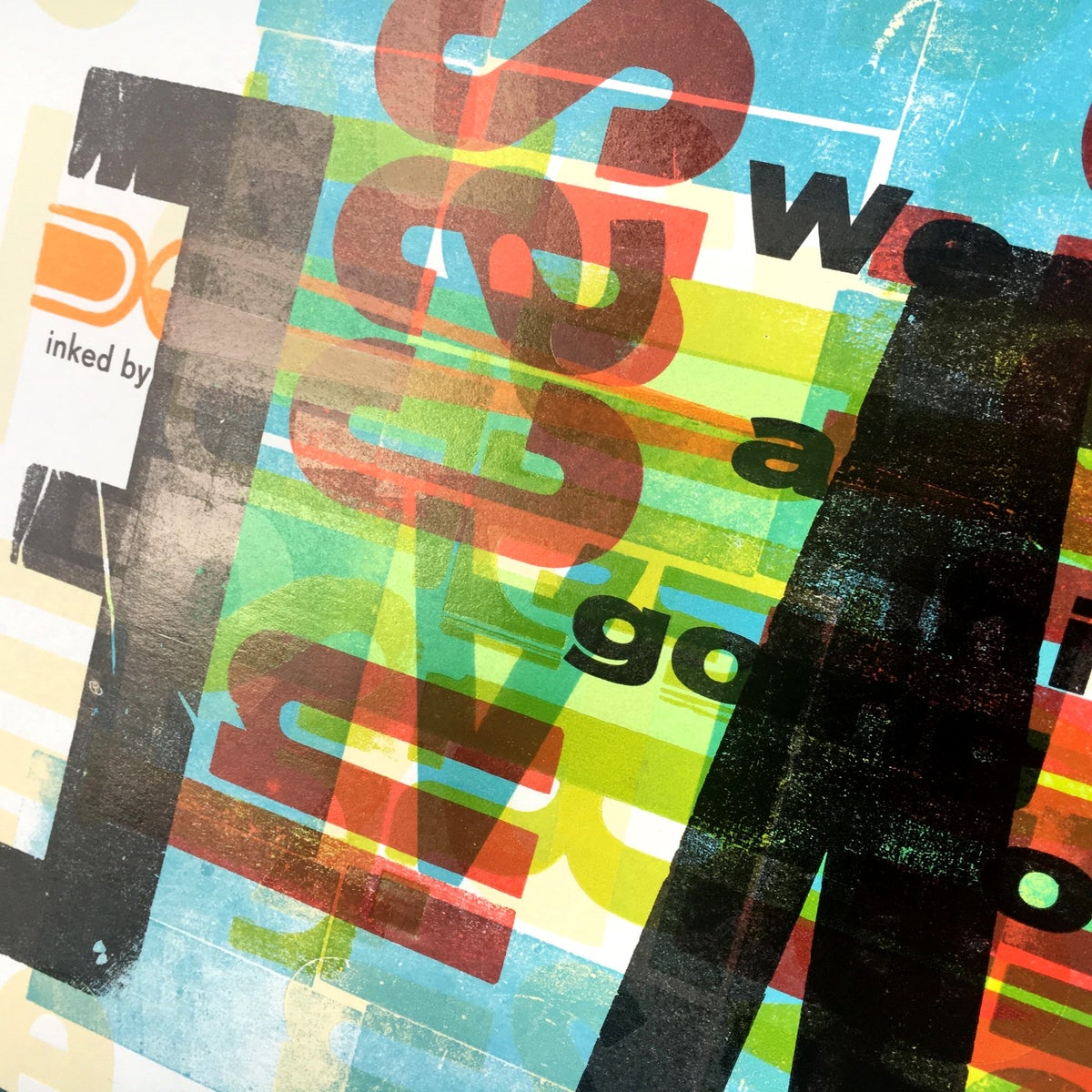 Image of One-off Typo Poster #2-026