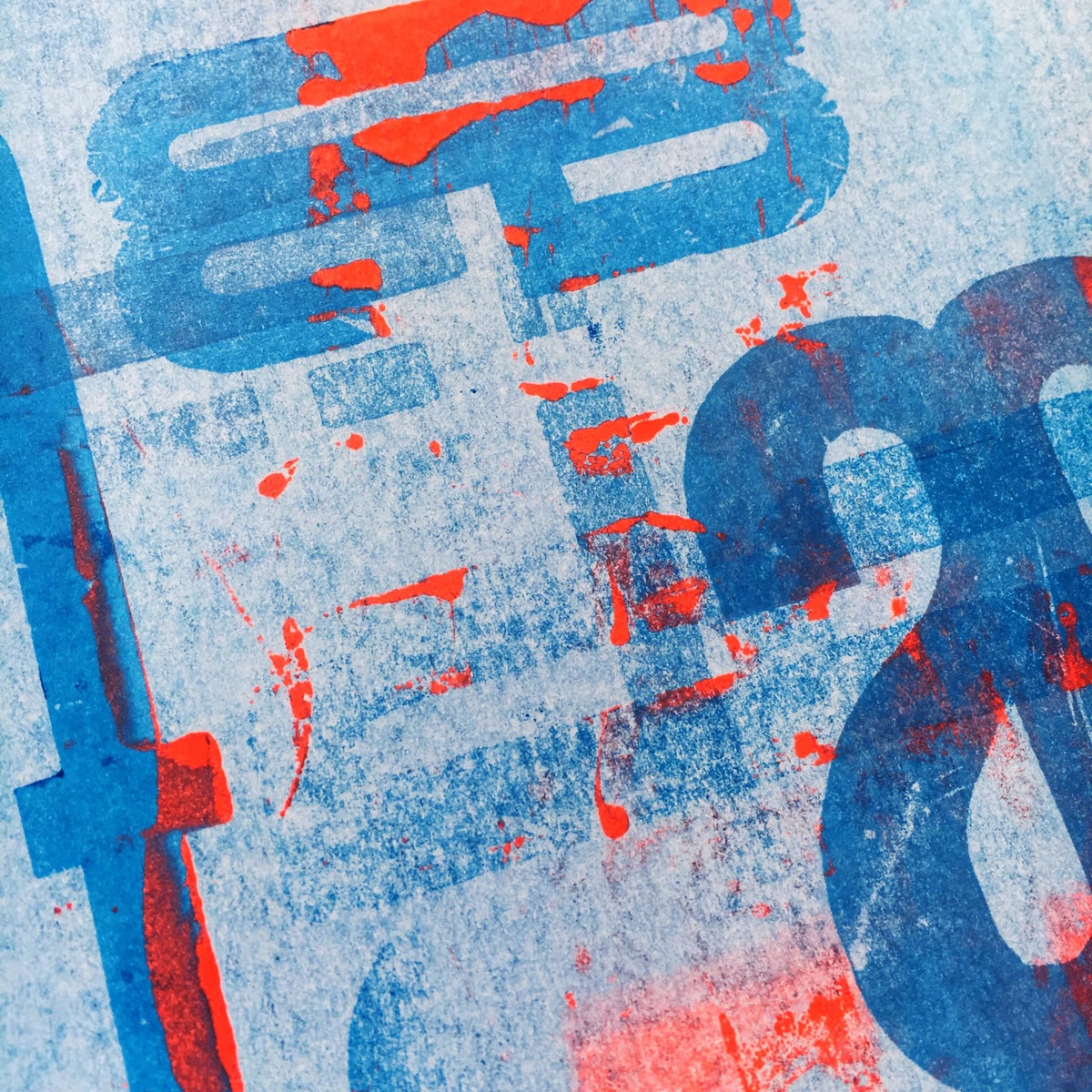 Image of One-off Typo Poster #2-025