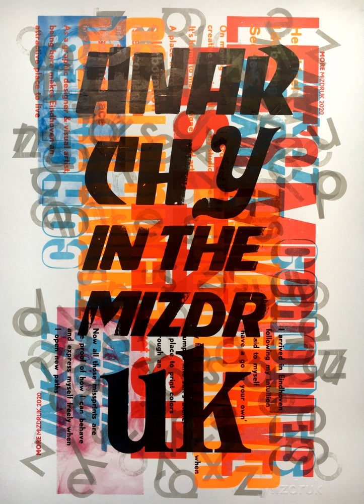 Image of One-off Typo Poster #2-020