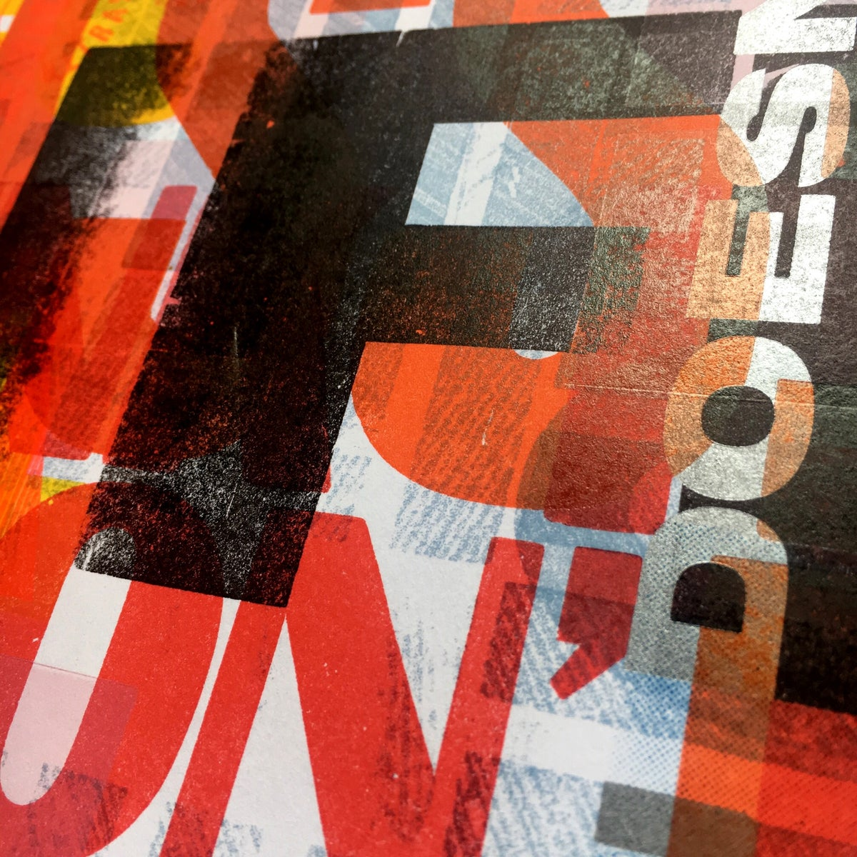 Image of One-off Typo Poster #2-019