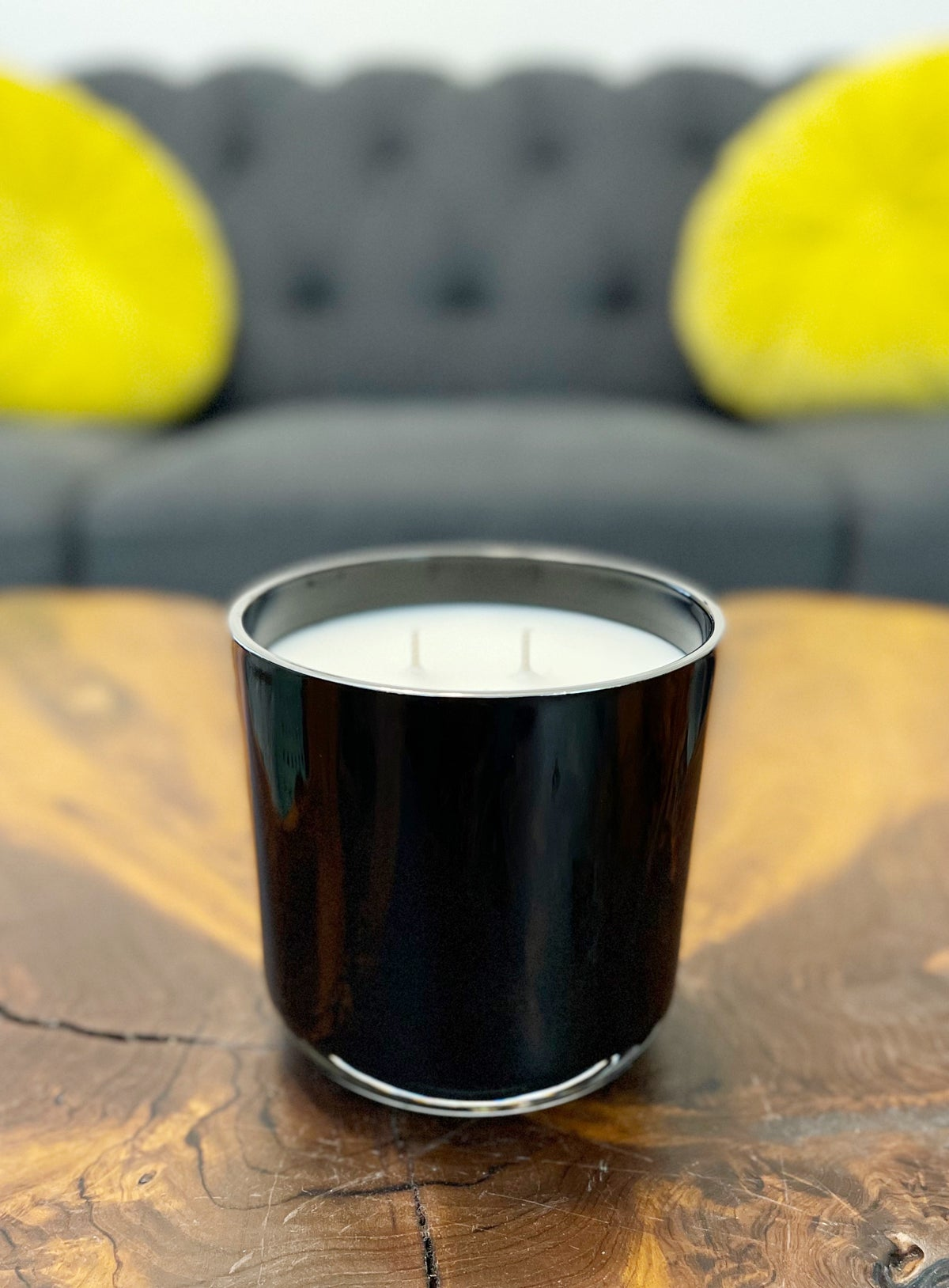 Image of Cashmere Plum Luxury Candle