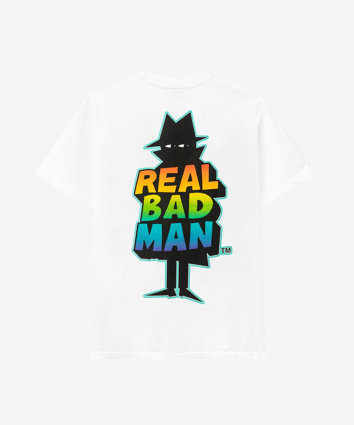Image of REAL BAD MAN_RBM LOGO TEE VOL. 7 :::WHITE:::