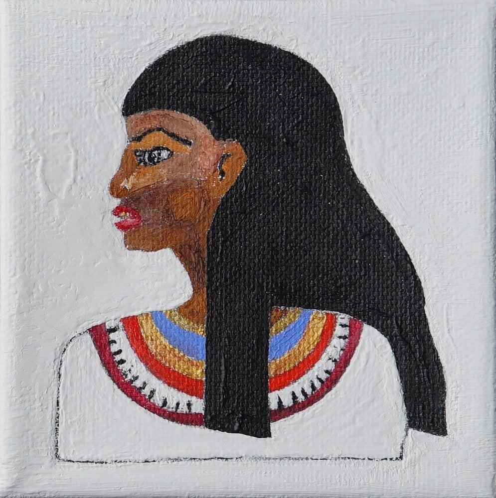 Image of Ancient Egyptian Princess