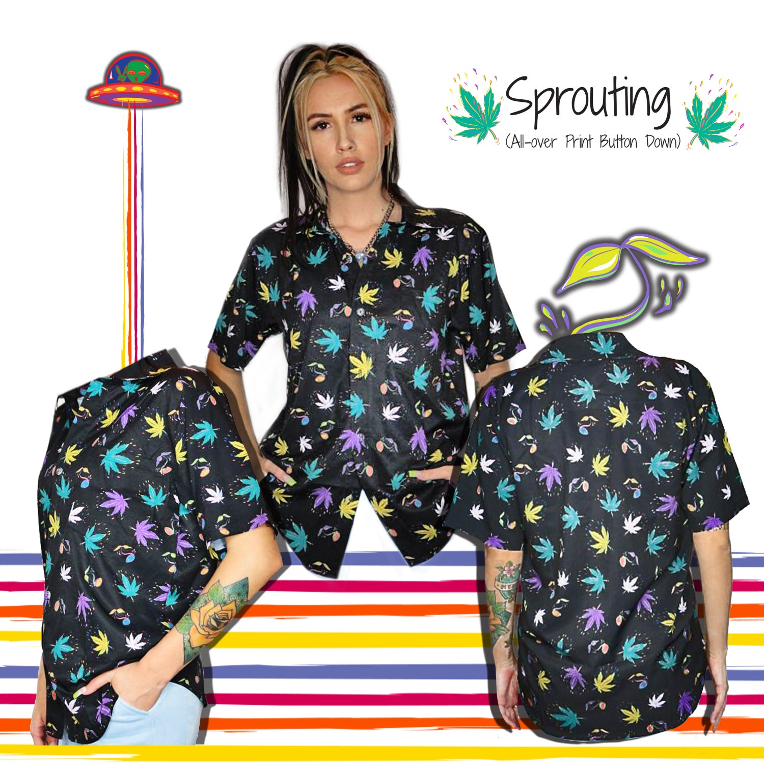 Completely Bonkers - Sprouting T-Shirt (LE 25)