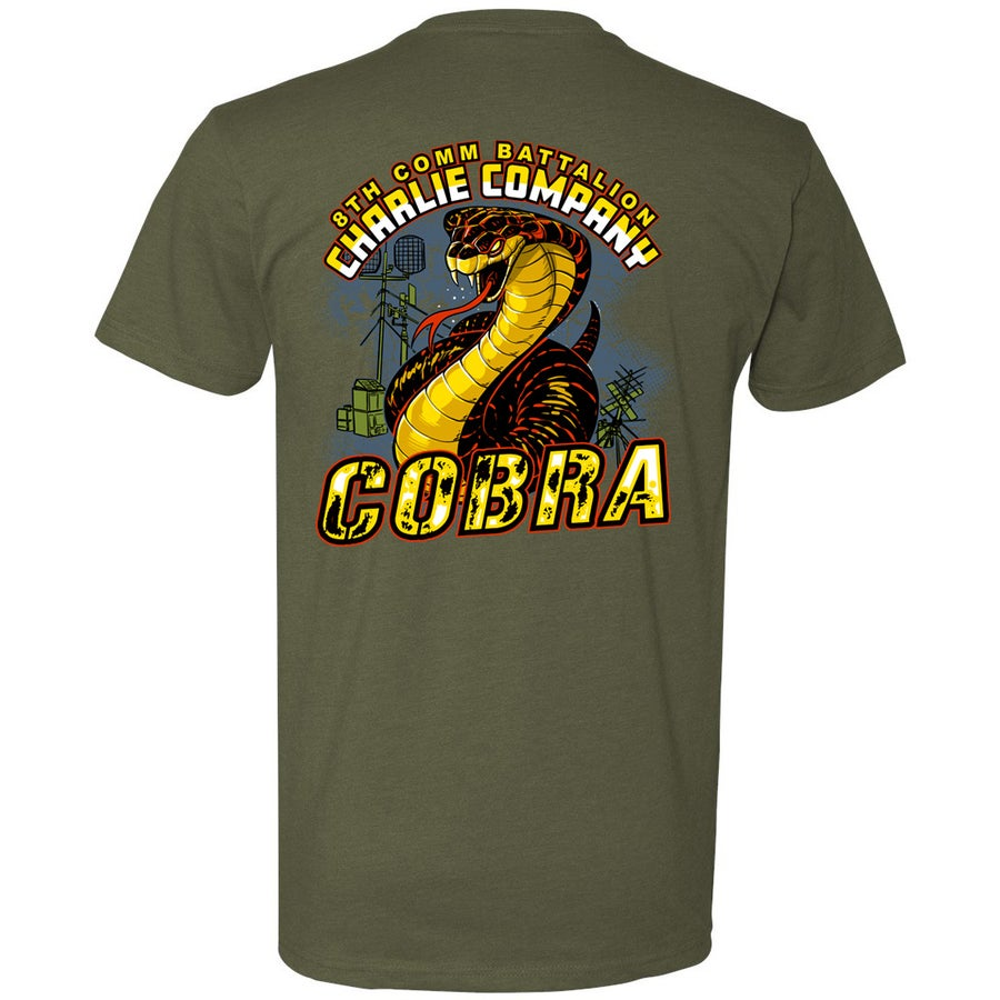 Image of SC2951 8TH COMM CHARLIE CO Short Sleeve Performance T-Shirt