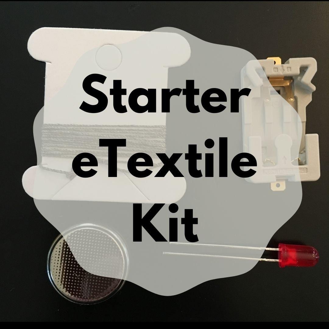 Starter LED e-Textile Sewing Kit