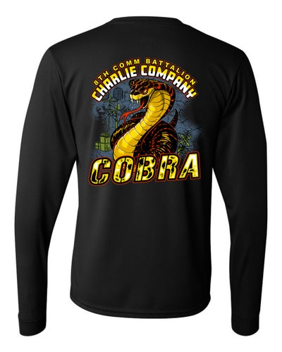 Image of SC2951 8TH COMM CHARLIE CO Long Sleeve Performance Shirt
