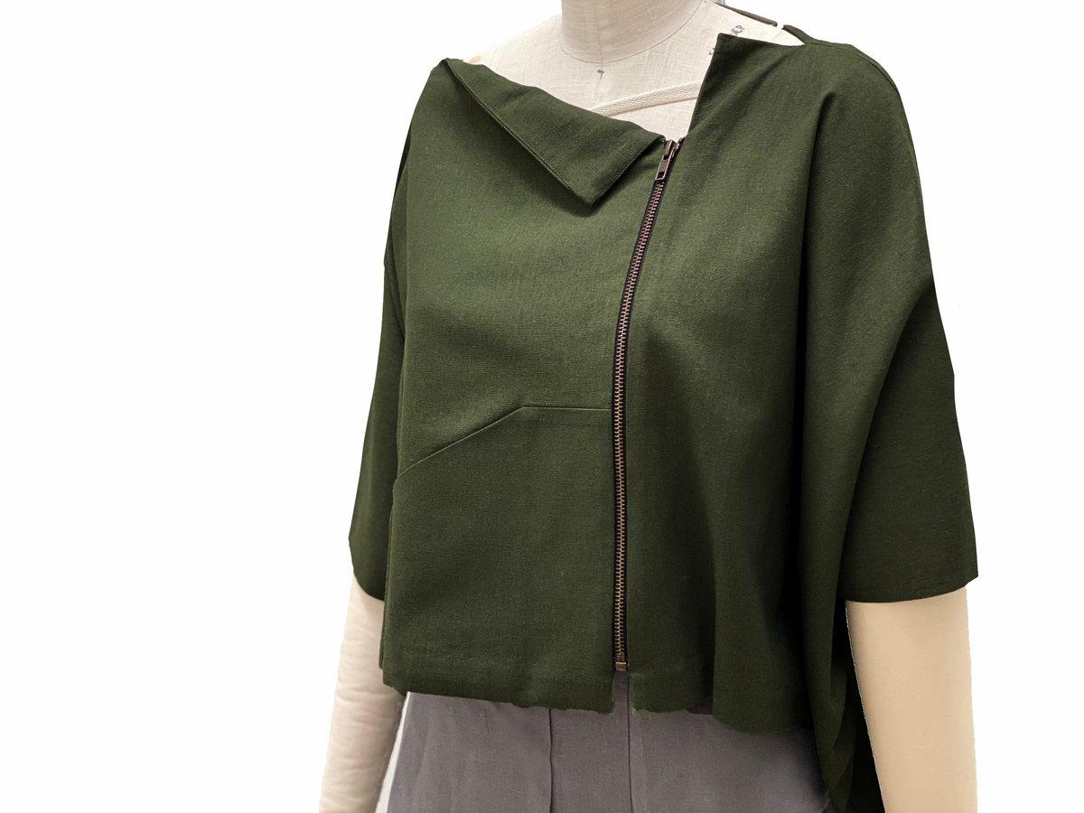 Image of kyoto kimono olive