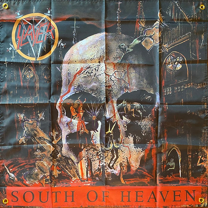 "Image of Slayer "" South Of Heaven "" Flag / Banner / Tapestry"