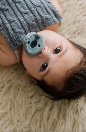 Image of [Sweetie Soother] GREY + MUSTARD Twin Pack
