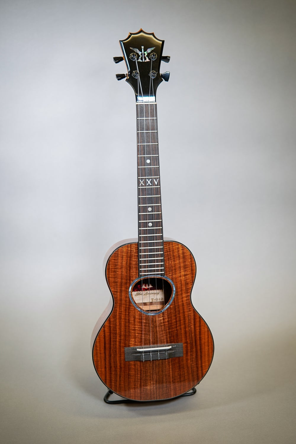 Image of KoAloha 25th Anniversary Silver Red Label Tenor #12