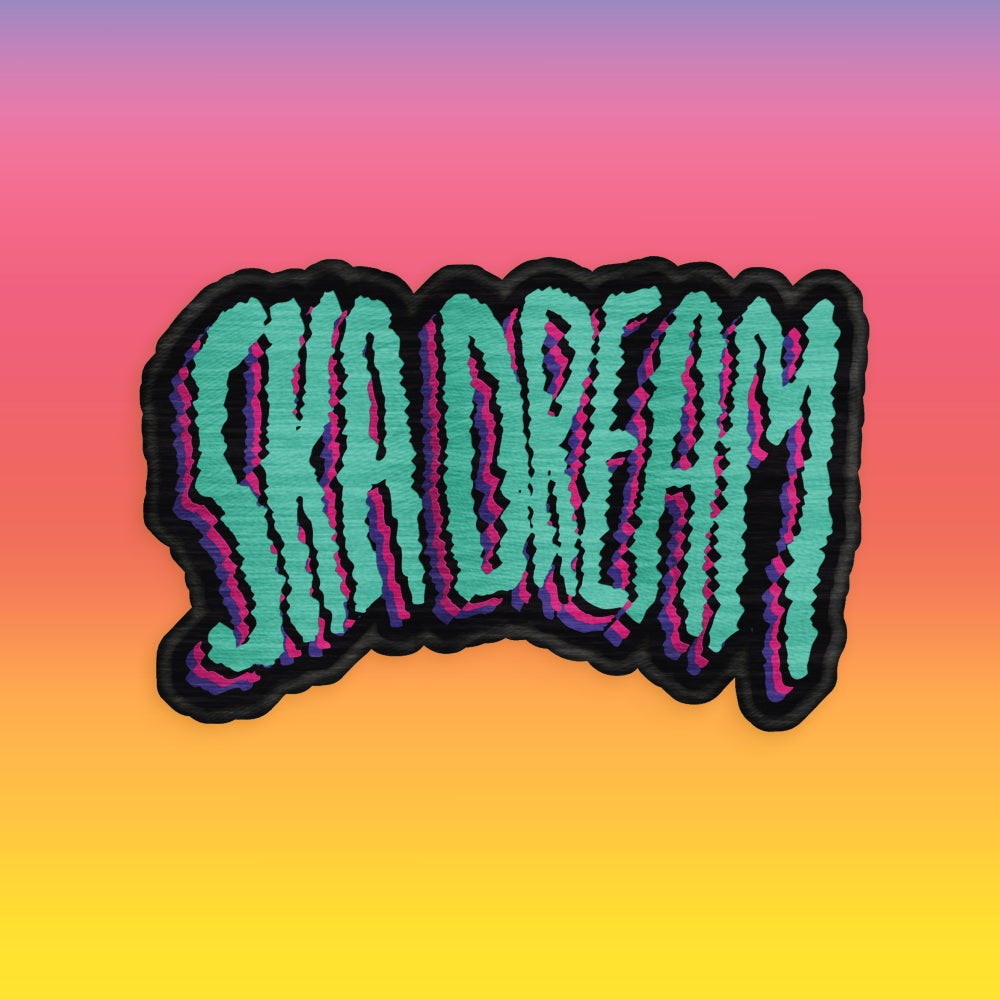 Image of ***PRE-ORDER*** SKA DREAM embroidered patch