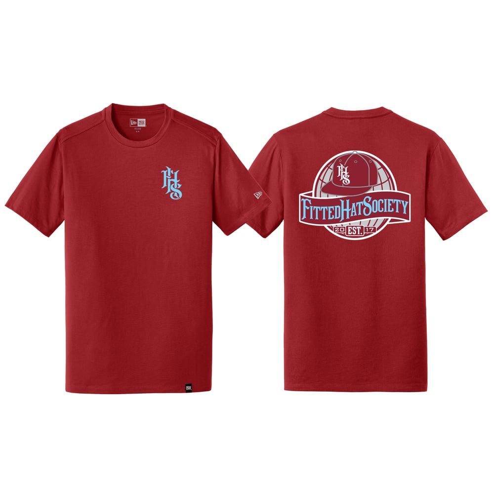FHS Globe Logo T-shirt Phils FLIPPED
